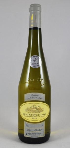 Tourlaudiere Muscadet Sèvre et Maine Blanc Frankreich