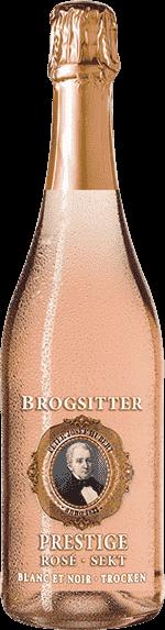 Brogsitter Prestige Rosé Blanc et Noir Sekt trocken Ahr