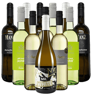 Weißwein Freunde Probierpaket Deutschland 12er Angebot