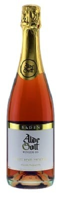Alde Gott Pinot Rosé Sekt trocken Baden