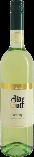 Alde Gott Riesling Qualitätswein mild 2012 Baden