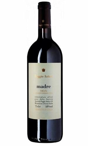 Madre Wein Poggio Antico Toscana Rosso IGT Italien