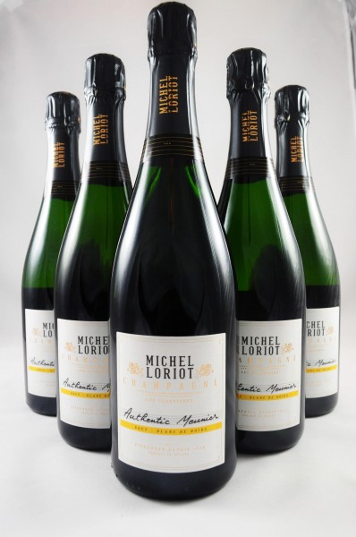 Michel Loriot Apollonis Champagner Meunier Brut 6er Angebot