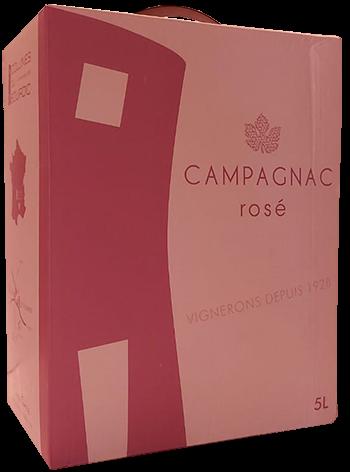 Bourdic Bag in Box Rosé Cuvee Rhone Frankreich 5,0 l