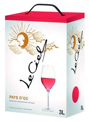 Le Ciel Rosé IGP 3,0 l Bag-in-Box Paul Mas 2012 Frankreich