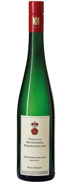 Schloss Proschwitz Goldriesling Wein trocken Sachsen VDP