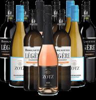 Alkoholfreier Wein Probierpaket Deutschland 12er Angebot