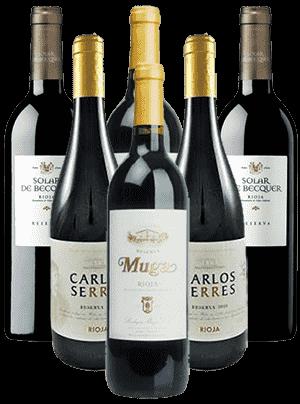 Reserva Rioja Probierpaket Spanien 6er Angebot